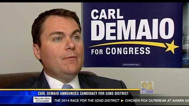 Carl DeMaio announces candidacy for 52nd District