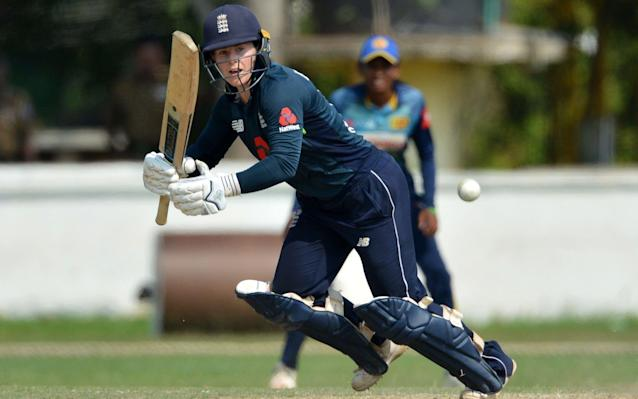 Tammy Beaumont struck a half century which helped guide her team to victory - AFP