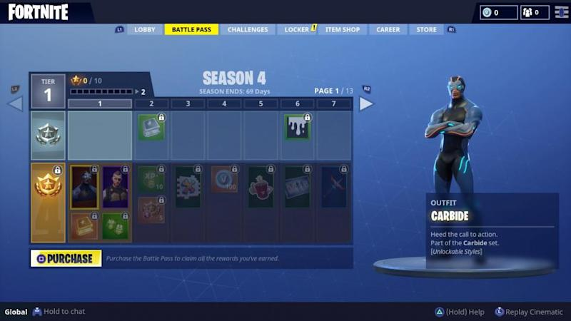 Fortnite Season 4 Battle Pass Skins Revealed Every Superhero Skin
