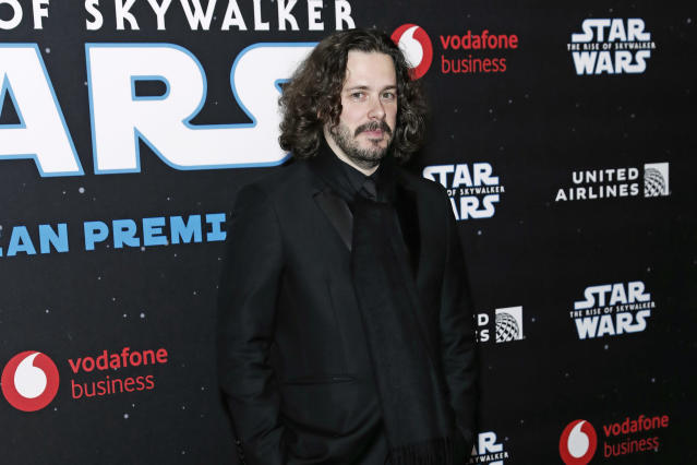 "Edgar Wright attends the European Premiere of ""Star Wars: The Rise of Skywalker"", 2019 in London, England. (David M. Benett/Dave Benett/WireImage)"
