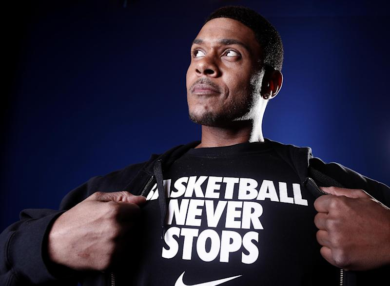 "FILE - In this Jan. 9, 2012 file photo, actor Pooch Hall from the BET show ""The Game"" poses for a portrait in New York. BET on Thursday, May 17, 2012 said in a statement to The Associated Press that Hall isn't coming back for the show's sixth season because of his ""involvement on a new project."" Hall recently signed on to do the Showtime pilot ""Ray Donovan."" (AP Photo/Carlo Allegri, File)"