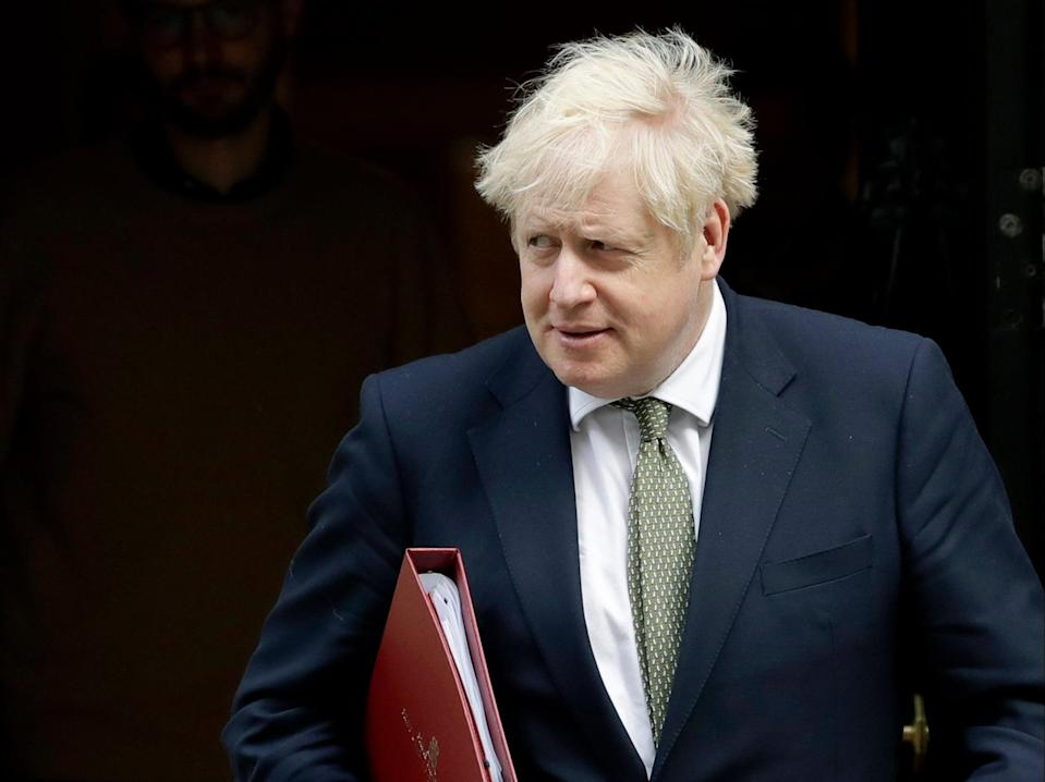 Boris Johnson dismissed concerns about Russian interference in elections as the moaning of 'Islington remainers'  (AP)