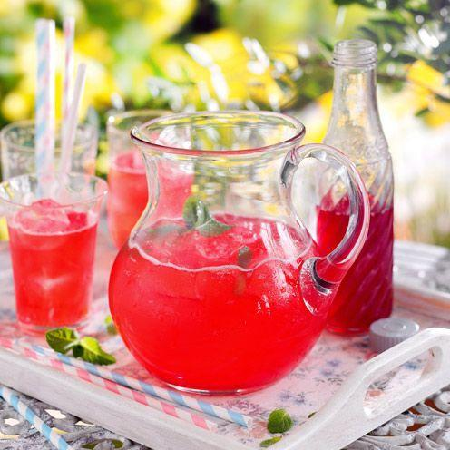 """<p>A real thirst quencher!</p><p><strong>Recipe: <a href=""""https://www.goodhousekeeping.com/uk/food/recipes/a536972/raspberry-cordial/"""" rel=""""nofollow noopener"""" target=""""_blank"""" data-ylk=""""slk:Raspberry cordial"""" class=""""link rapid-noclick-resp"""">Raspberry cordial</a></strong></p>"""