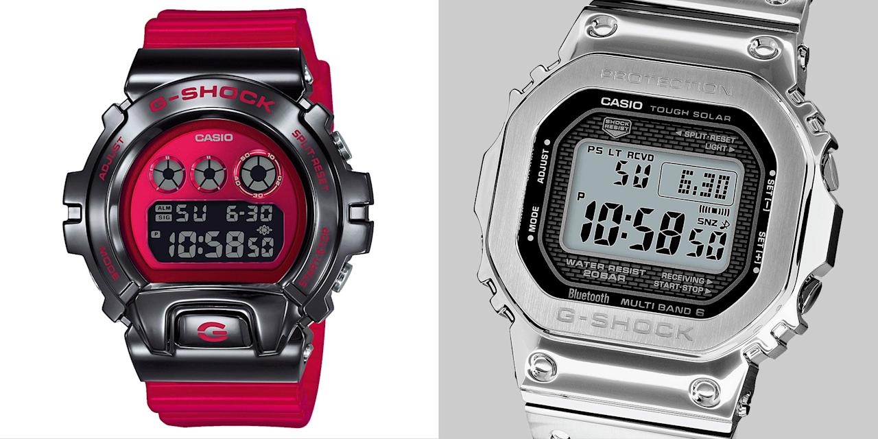 "<p>Casio celebrated its 100 millionth shipment of G-Shocks a couple of years ago. Still the 36-year-old brand shows little sign dilution. </p><p>It's a brand beloved by both the SAS and hypebeasts – fans include soldiers, firefighters and astronauts, and it has collaborated with Stüssy, Levi's and A Bathing Ape. That's because the ""unbreakable"" original with its ""triple 10 patent"" – a housing of ten protective layers designed to survive a 10-foot fall, be water resistant to 10 bar (100 meters) and have a 10-year battery life – now comes in dozens of versions with all sorts of modern trickery: Bluetooth, solar power and smartphone connectivity, to name three. It has continued to push the boundaries of material science with its premium MR-G line, using titanium and Japan-developed cobalt base alloys. </p><p>On February 14 it releases three new watches in its GM-6900 ""Triple Graph"" series, featuring the addition of a stainless steel bezel and high-quality finishes. </p><p>""We're always looking to give customers the wow factor,"" founder and father of the G-Shock Kikuo Ibe told Esquire's watch annual The Big Watch Book recently. ""To keep toughness while challenging new technologies. The expected level of fun in G-Shock's design is getting higher and higher, so we are trying to achieve that expectation.""</p><p>To mark the unveiling of the new watches, and celebrate the only design icon to earn a Guinness World Record for having a 24.97 ton truck driven over it, here are the seven best G-Shocks you can buy today.</p>"