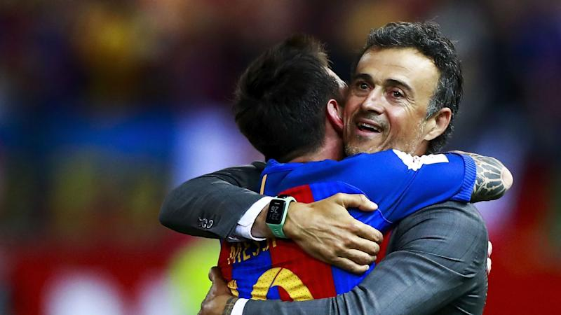 Barcelona will win without Messi, says Luis Enrique