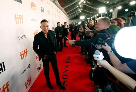 "Springsteen arrives for the world premiere of ""Western Stars"" at the Toronto International Film Festival (TIFF) in Toronto"