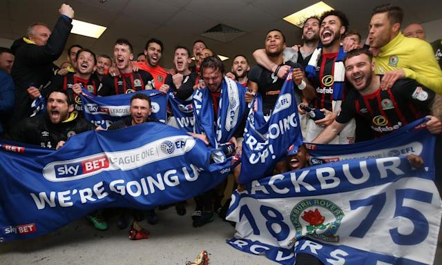 Football League round-up: Blackburn bounce back to the Championship