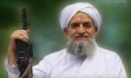 A photo of Al Qaeda's new leader, Egyptian Ayman al-Zawahiri, is seen in this still image taken from a video released on September 12, 2011