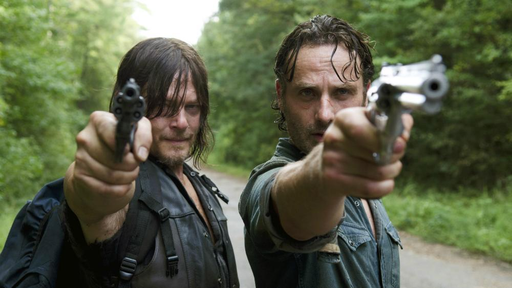 The Walking Dead, which is shot in Georgia (Credit: AMC)