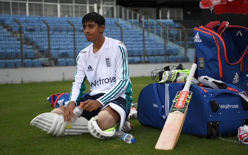 Haseeb Hameed was thrown in at the deep end in India - 2016 Getty Images
