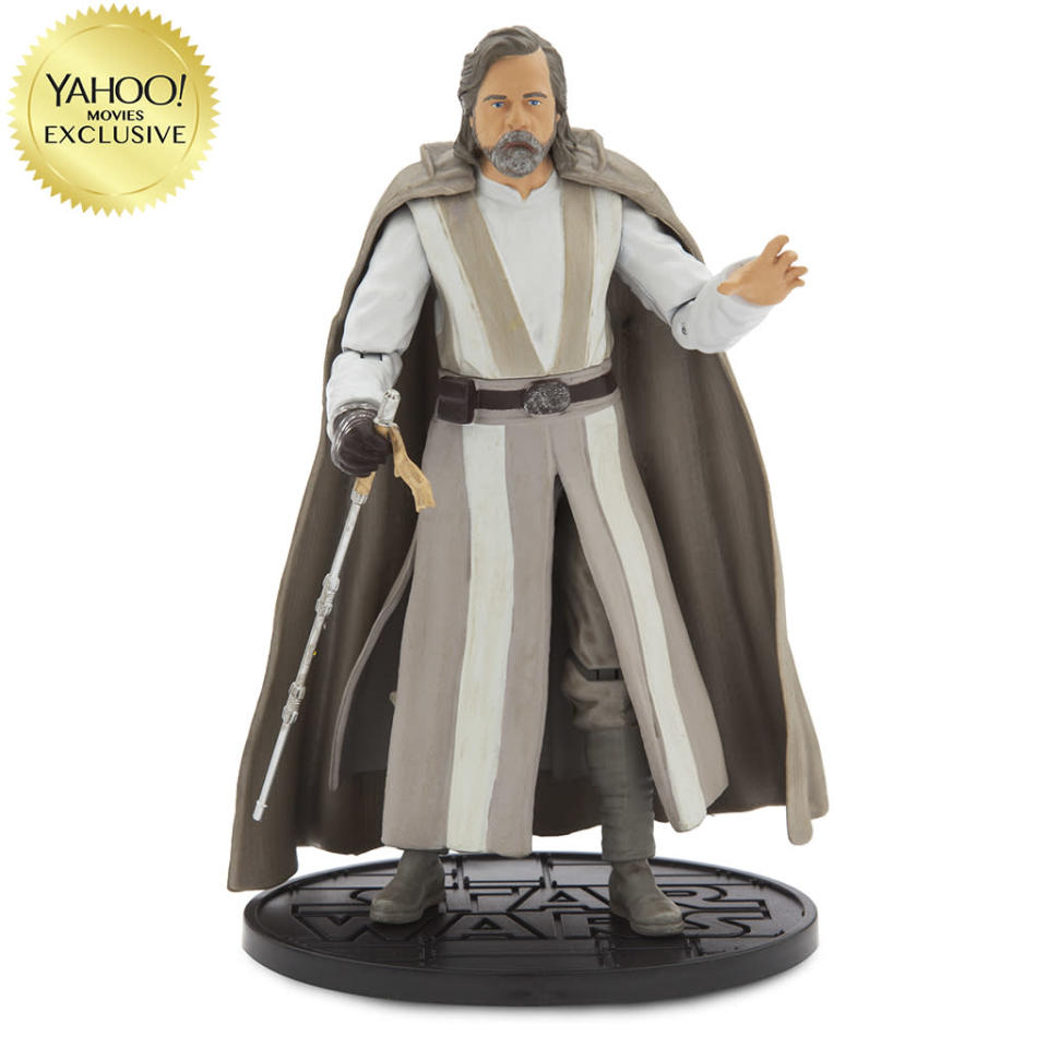 """<p>""""Luke returns to join the Resistance in thwarting the evil efforts of the First Order."""" $26.95/DisneyStore.com (Photo: Disney Store) </p>"""