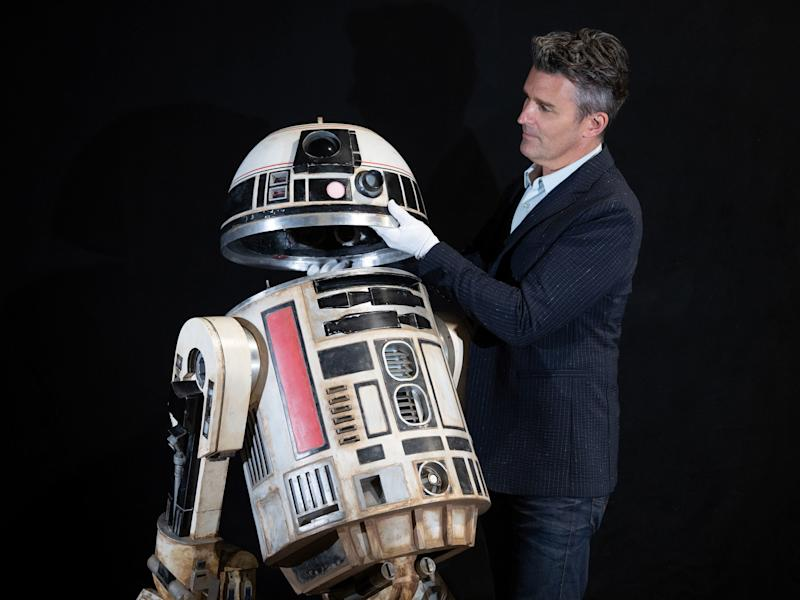 Star Wars droid and Obi-Wan's lightsaber to be sold as part of huge film prop auction