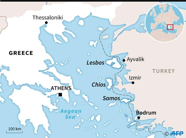 Greece's islands in the Aegean lie just off the Turkish coast