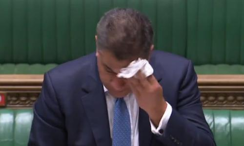 Business secretary tested for Covid-19 after feeling ill during Commons speech