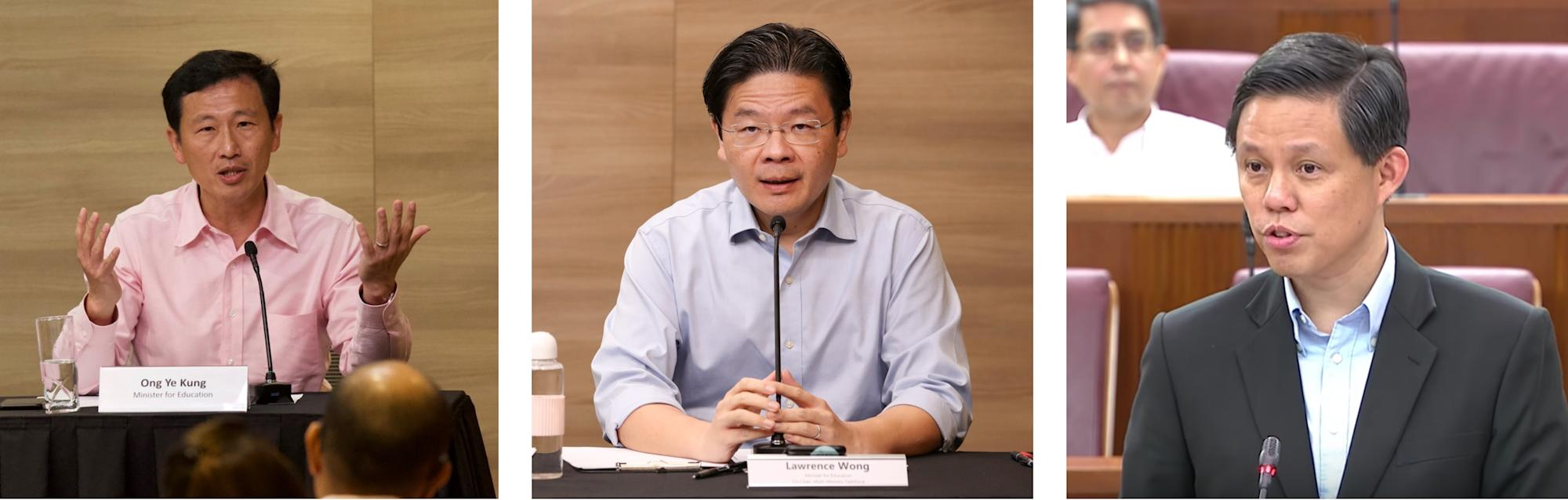 Singapore's 4G leadership race: Will it be Ong, Wong or Chan?