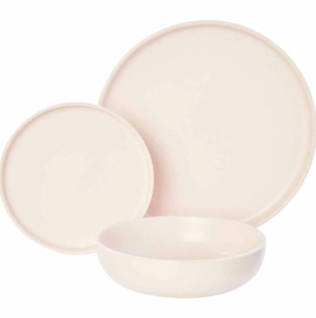 """<strong>Jess Commons, Managing Editor</strong><br><br><strong>Under £10</strong><br><br>I'm a fiver over budget but extreme bargains call for extreme measures. I fell in love with the plates and bowls at my <a href=""""https://www.instagram.com/p/CHFcXZ3H-_M/"""" rel=""""nofollow noopener"""" target=""""_blank"""" data-ylk=""""slk:local wanky coffee shop"""" class=""""link rapid-noclick-resp"""">local wanky coffee shop</a> and couldn't believe it when they turned out to be from Wilko. The entire set is currently on sale for £15. My set has just arrived and it's truly perfect.<br><br><strong>Wilko</strong> Wilko Cream Speckled Dinner Set 12pc, $, available at <a href=""""https://www.wilko.com/en-uk/wilko-cream-speckled-dinner-set-12pc/p/0479317"""" rel=""""nofollow noopener"""" target=""""_blank"""" data-ylk=""""slk:Wilko"""" class=""""link rapid-noclick-resp"""">Wilko</a>"""