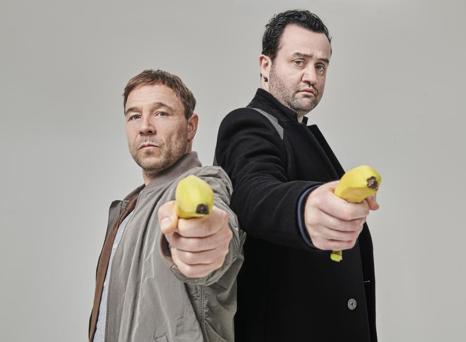 Code 404 is moving over to Sky Comedy. (Sky UK / Andrea Southam)