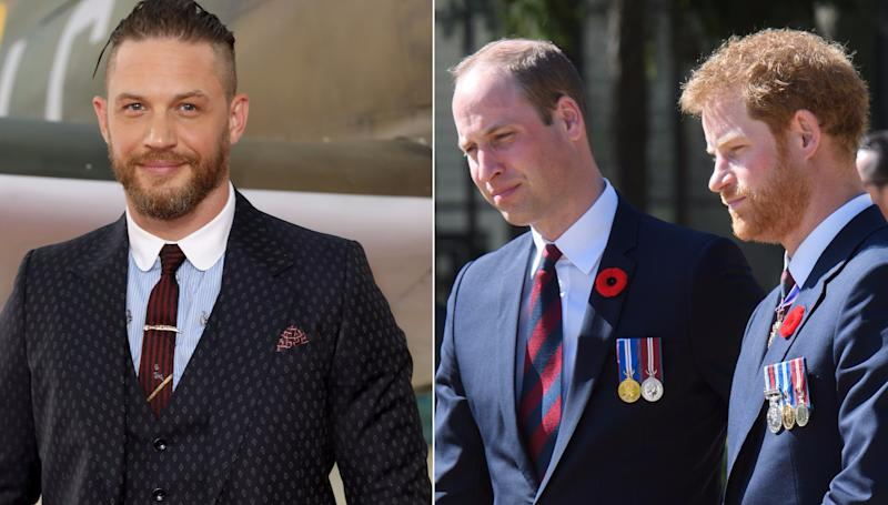 Will Tom Hardy Prince William And Prince Harry Appear In Star Wars The Last Jedi Credit Wenn