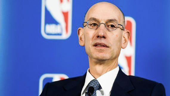 NBA commissioner Adam Silver had threatened to move the game unless a discriminatory North Carolina law against LGBT was changed. Photo: AP