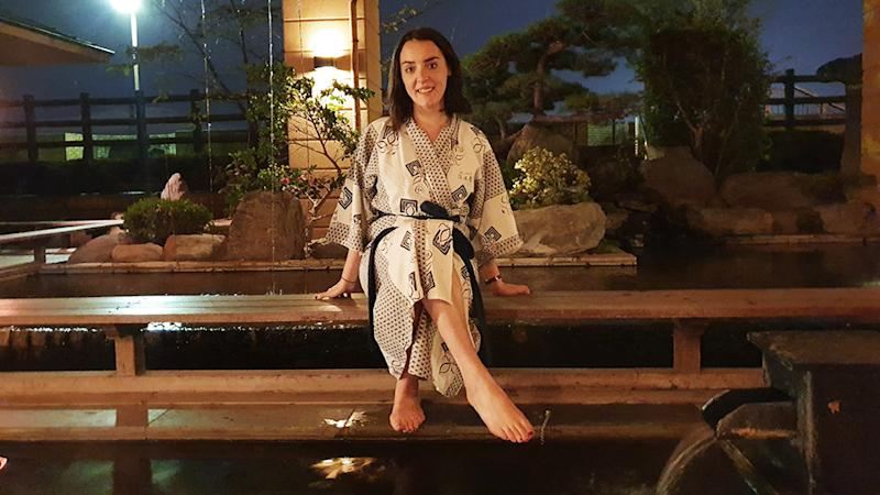 In the hot spring capital of Japan, I conquered my fears and leant in to onsen culture. Photo: Supplied