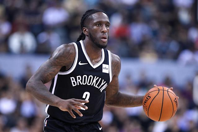 The Nets acquired Taurean Prince in an offseason deal that helped clear cap space for Kevin Durant and Kyrie Irving. (Zhong Zhi/Getty Images)
