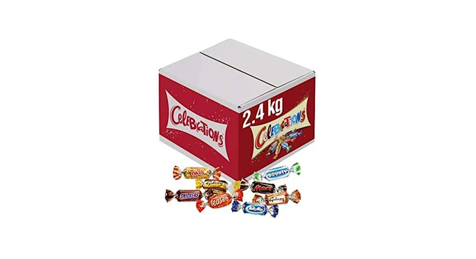Celebrations Chocolate Bulk Box, 2.4 kg