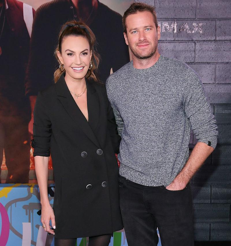 Elizabeth Chambers Hammer and Armie Hammer | Jemal Countess/FilmMagic