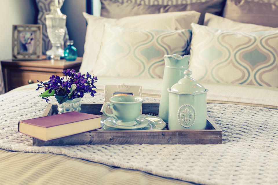 'Making moments' is a great way to display clutter. (Getty Images)