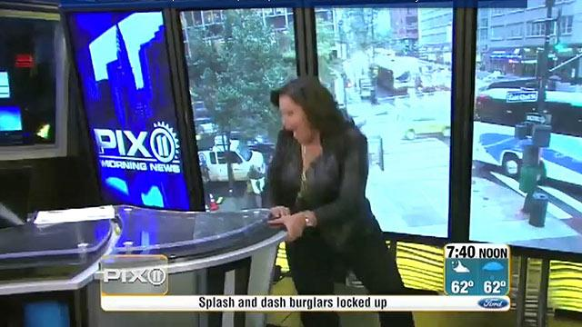 News Anchor Falls in Orgasm-Inducing Heels on Live TV