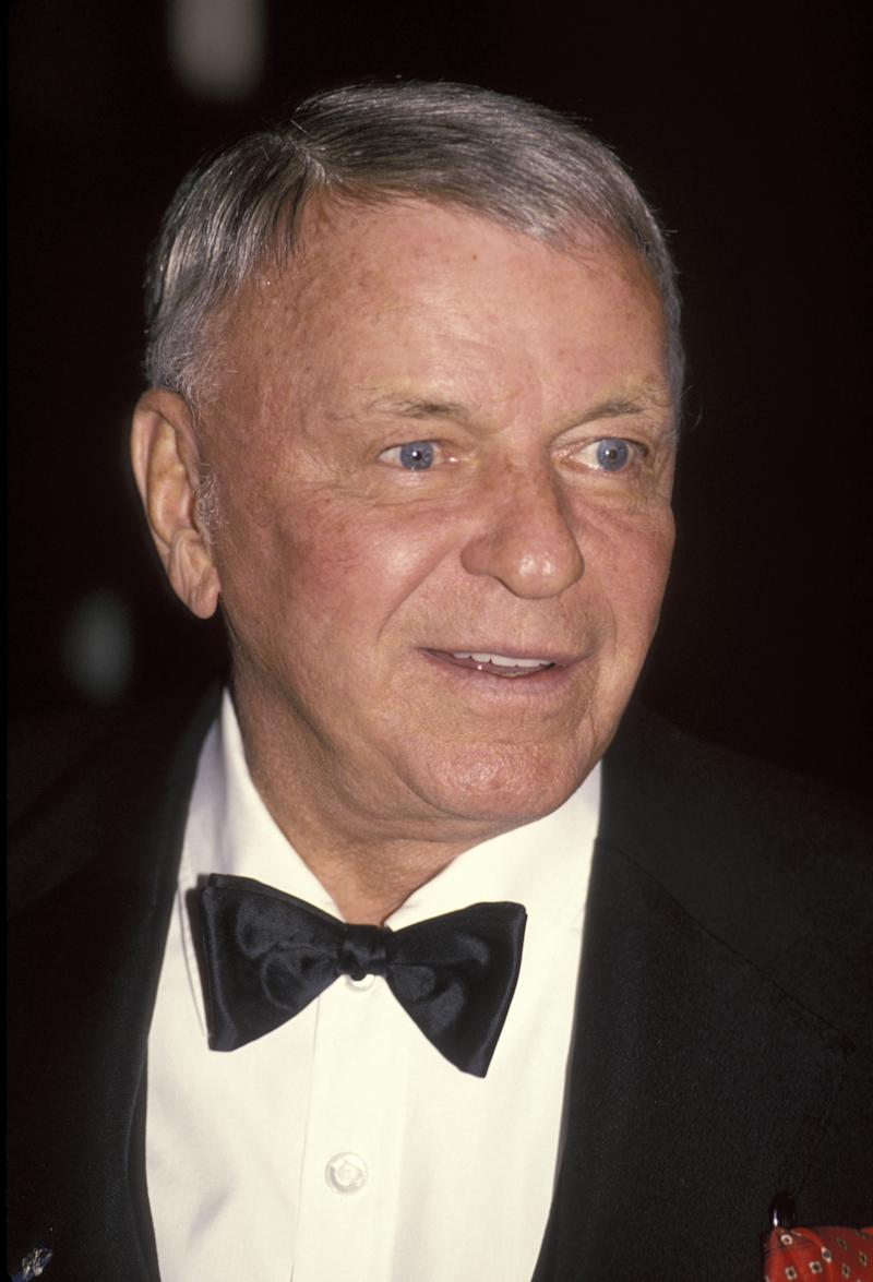 Frank Sinatra during Mission Hills Celebrity Sports Invitational - November 30, 1991 at Westin Mission Hills Resort in Rancho Mirage, California, United States. (Photo by Ron Galella, Ltd./Ron Galella Collection via Getty Images)