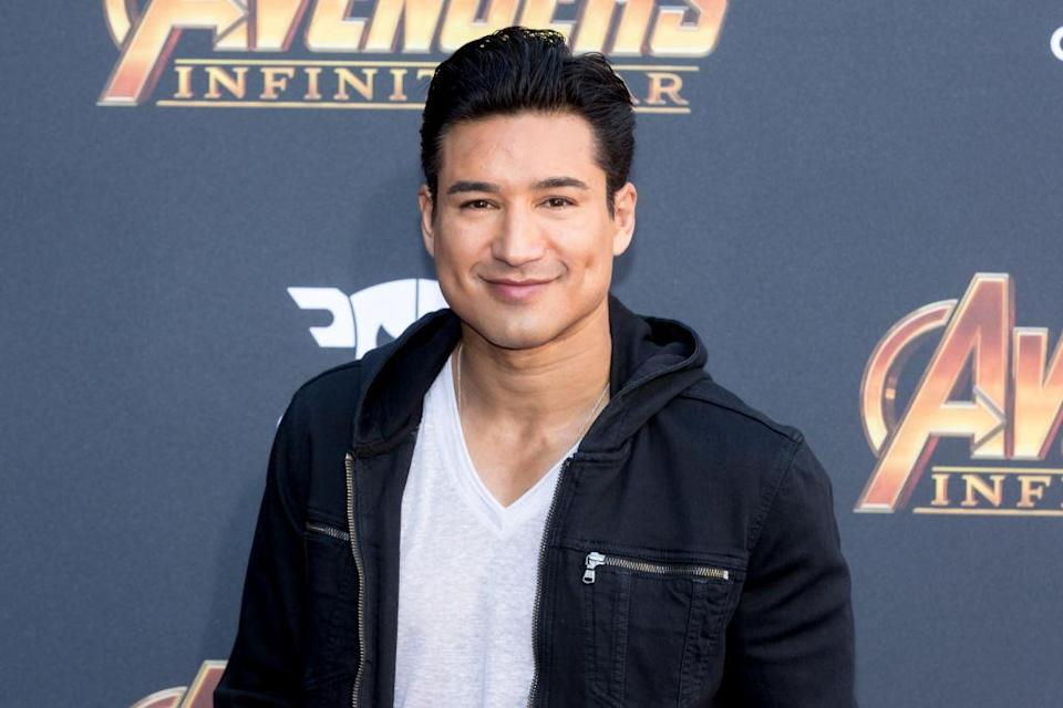 Mario Lopez at the premiere of <em>Avengers: Infinity War</em> on April 23. (Photo: Greg Doherty/Patrick McMullan via Getty Images)