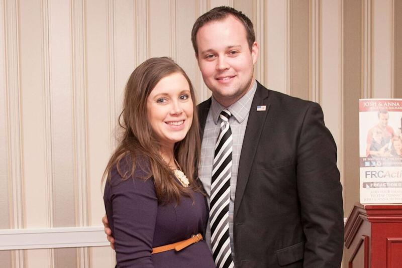 Anna and Josh Duggar | Kris Connor/Getty