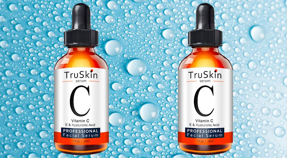 TruSkin Vitamin C Serum for Face with Hyaluronic Acid. (Photo: Amazon)