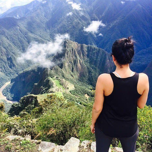 &quot;When I'm traveling alone, whether it's in my city or internationally, I feel a sense of peace and awe while observing my surroundings. It's when I think more about my small, small place in this massive universe. I'm always overcome with love and wonder and awe and sincere gratitude.&quot; --<strong>Sahaj Kohli,&amp;nbsp;Lifestyle Blog Editor. pictured in Peru</strong>