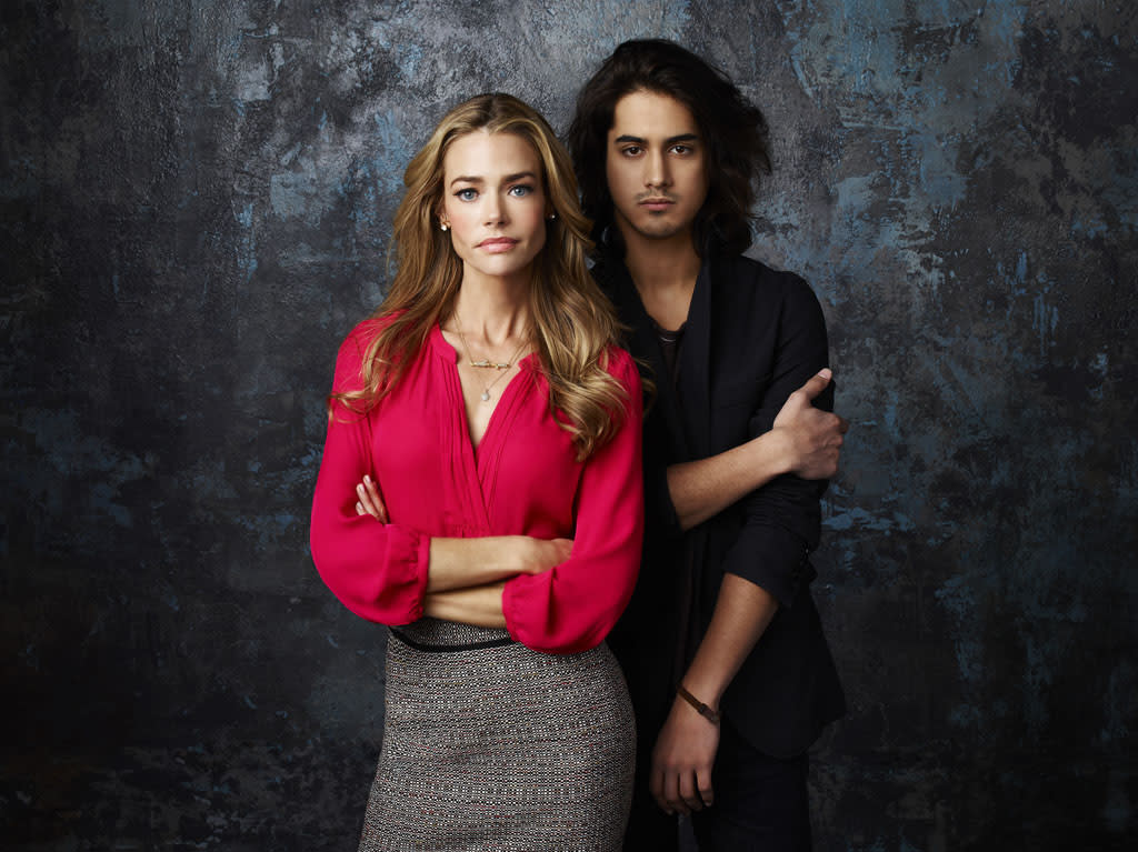 "ABC Family's ""Twisted"" stars Denise Richards as Karen and Avan Jogia as Danny."