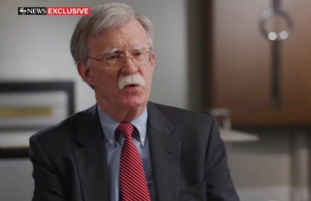 Ratings: ABC News' John Bolton Interview Tops Sunday