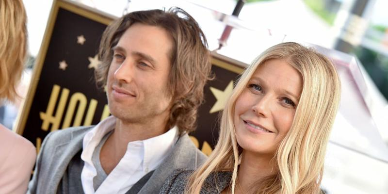 Wait, Gwyneth Paltrow Doesn't Live with Her New Husband, Brad Falchuk?