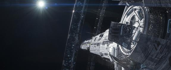 """Looking at a part of Elysium as shown in TriStar Pictures' """"Elysium."""""""