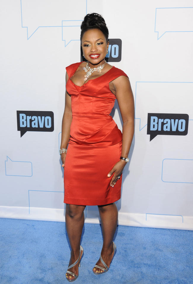 Phaedra Parks attends Bravo's 2012 Upfront Event at Center 548 on April 4, 2012 in New York City.