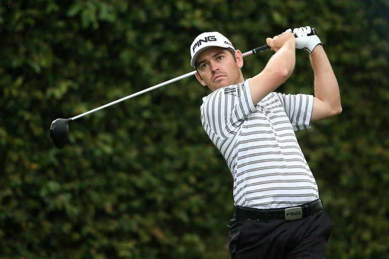 South Africa's Louis Oosthuizen tees off during the second round of the 2013 Masters in Augusta on April 12, 2013