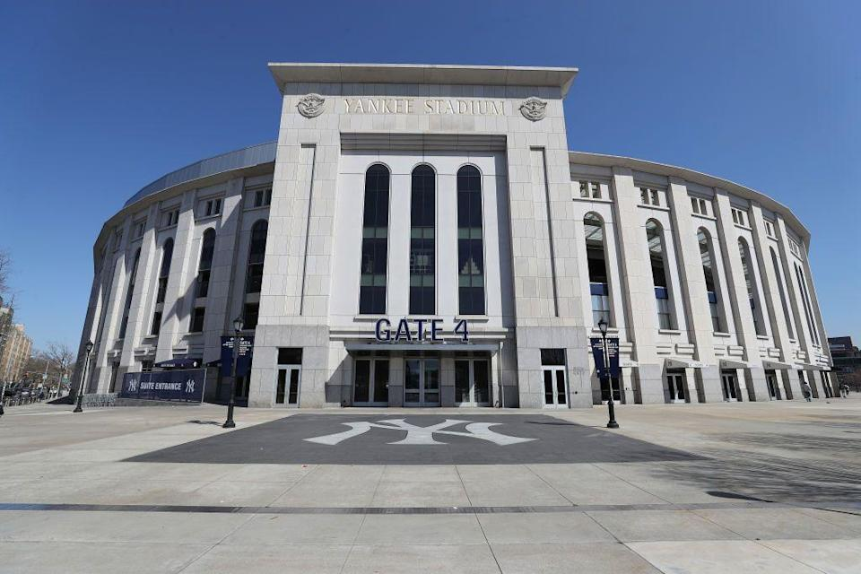 """<p><em>Bronx, NY</em></p><p>Next month, the baseball stadium will convert its sprawling parking lot into the Uptown Drive-In, which will host movie screenings as well as performances by local artists, food vendors, comedy shows, and other events, all to be enjoyed from the safe confines of your car.</p><p><em>Sign up for information and updates <a href=""""https://mailchi.mp/020fe780da53/uptowndrivein"""" rel=""""nofollow noopener"""" target=""""_blank"""" data-ylk=""""slk:here"""" class=""""link rapid-noclick-resp"""">here</a></em></p>"""