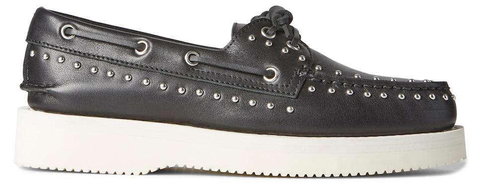 Sperry X Rebecca Minkoff's Authentic Original Studs boat shoes. - Credit: Courtesy of Sperry