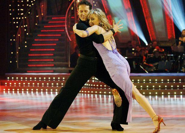 Fiona and Brendan on Strictly Come Dancing (Picture: BBC)