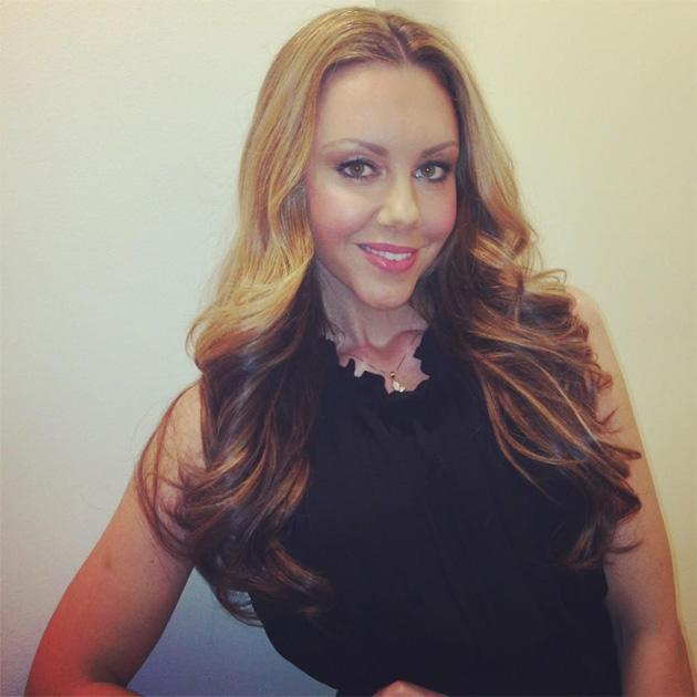 Celebrity Twitpics: Michelle Heaton is back to her former self after her double mastectomy before Christmas. This week she's had a hair overhaul, and tweeted this photo of her shiny new locks. Copyright [Michelle Heaton]