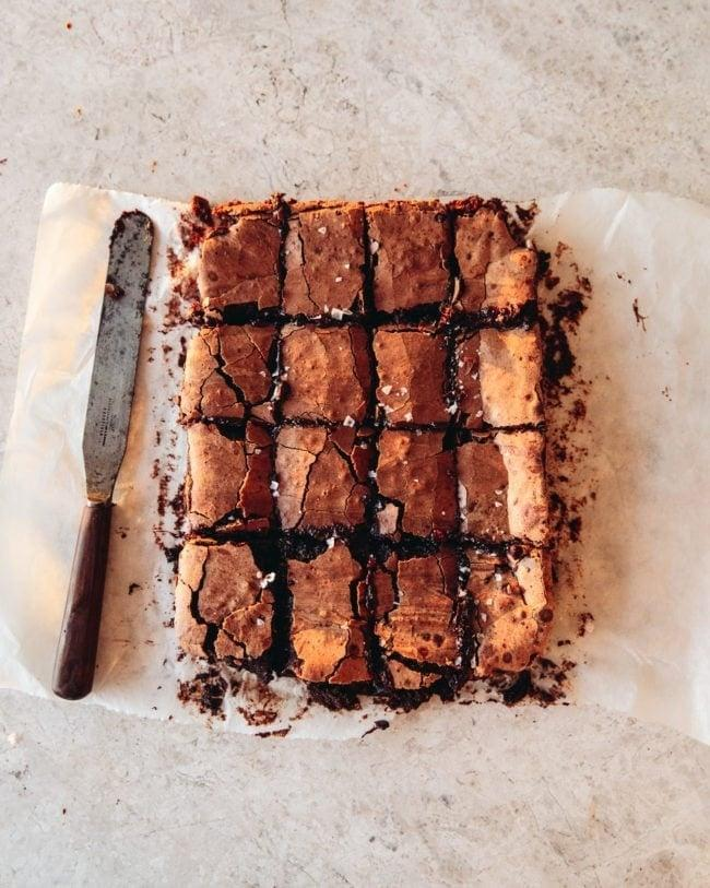 """<h2><h3>Sourdough Brownies</h3></h2> <br>Let's move away from the cakes and muffins and focus on something a bit more chocolatey: brownies. Whether you're self-isolating with friends or family, these are guaranteed to be a crowd-pleaser. <br><br><em>Recipe by </em><a href=""""https://topwithcinnamon.com/sourdough-brownies/"""" rel=""""nofollow noopener"""" target=""""_blank"""" data-ylk=""""slk:Izzy Hossack"""" class=""""link rapid-noclick-resp""""><em>Izzy Hossack</em></a> <br><br><br>"""