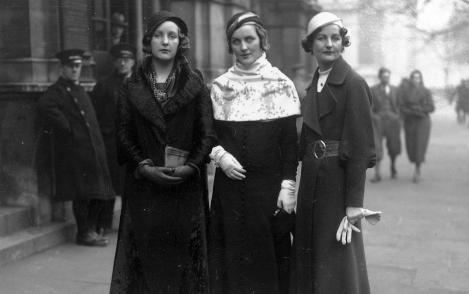 The Mitford sisters in 1932 - Hulton Archive