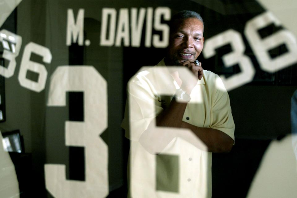 Former Oakland Raider safety Mike Davis