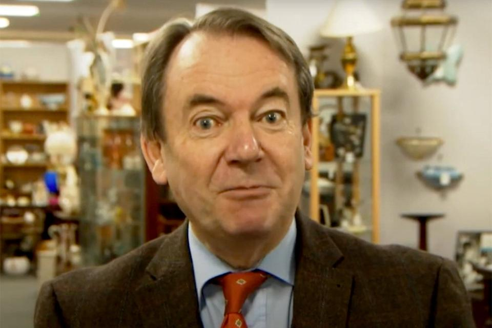 <p>Eric Knowles from Bargain Hunt</p> (BBC)