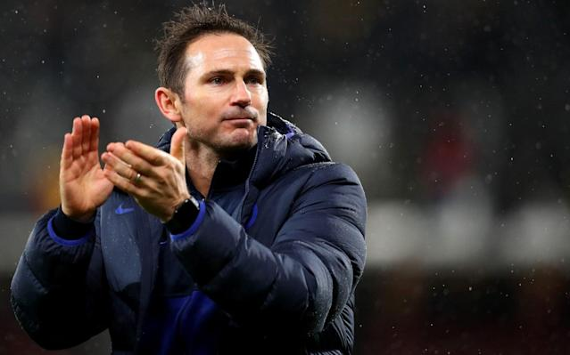 Chelsea manager Frank Lampard signed the document which outlines the fines meted out to players - Getty Images Europe