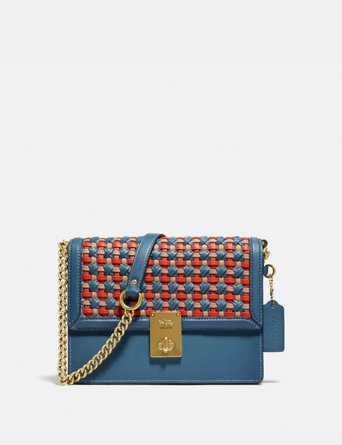 Hutton Shoulder Bag With Weaving - Coach, $293 (originally $695)